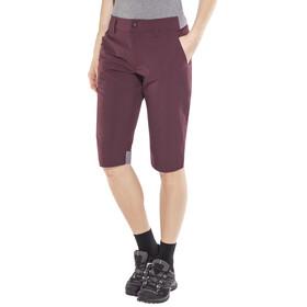Haglöfs Amfibious Long Shorts Women Aubergine